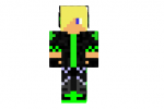 Monster Energy Teen Skin