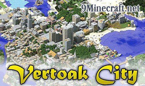 Vertoak City Map 11221112 For Minecraft 9minecraftnet
