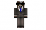 Cow In Suit HD Skin