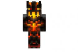 Fire-monster-skin