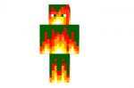 Flame Source Skin