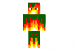 Flame-source-skin