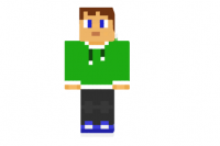 Green-hoodie-teenager-skin