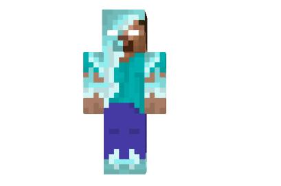 Minecraft Skin Herobrine Icey Herobrine Skin | ...