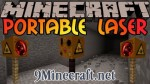 Portable Mining Laser Mod 1.6.4/1.5.2