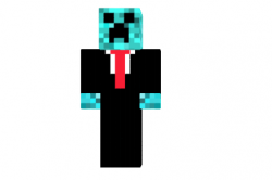Suited-creeper-skin
