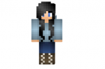 Blue Sweater Girl Skin