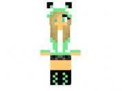 Mint-panda-girl-skin