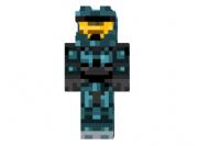 Cyan-spartan-skin