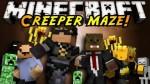 Infinite-Creeper-Maze-Map