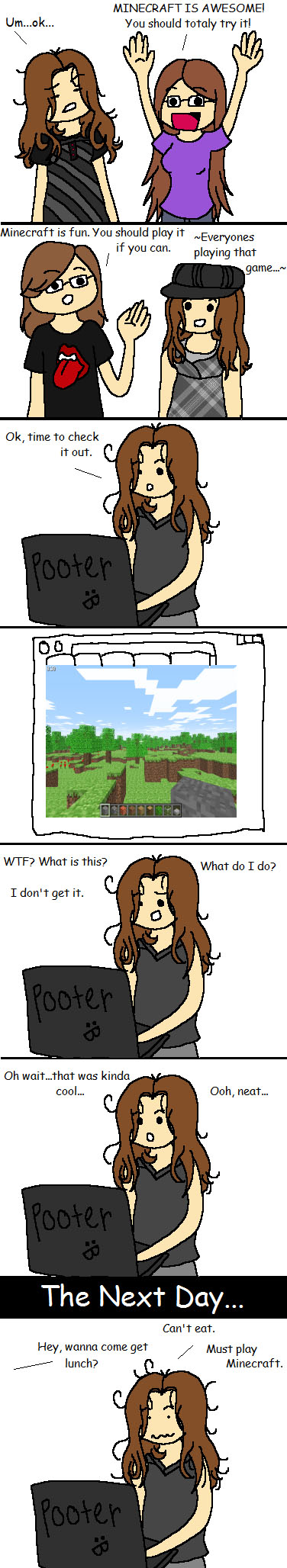 Minecraft-Come-to-you
