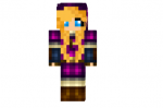 Purple Link Girl Skin