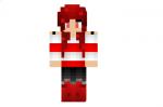 Redstone Girl Skin