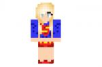 Superman Girl Skin