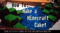Make-minecraft-cake