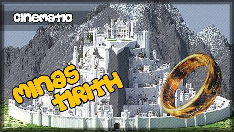 minas tirith lord of the rings map 9minecraftnet