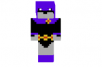 Raven Teen Titans Skin
