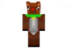 Reindeer-skin