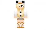 Snowman Girl Skin