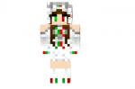 White Christmas Dragon Skin