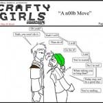 Скачать Minecraft Comic: CraftyGirls #4