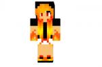 Fire Girl Edit Read Desc Skin