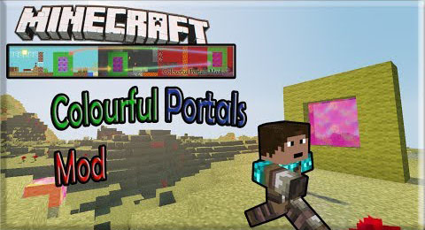 Colourful Portals Mod 1 7 10 - 9Minecraft Net