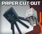 Paper Cut-Out Resource Pack 1.8.7/1.8