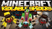 Rideable-Spiders-Mod