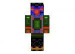 Robot-alien-skin