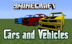 Cars and Vehicles Mod 1.6.4