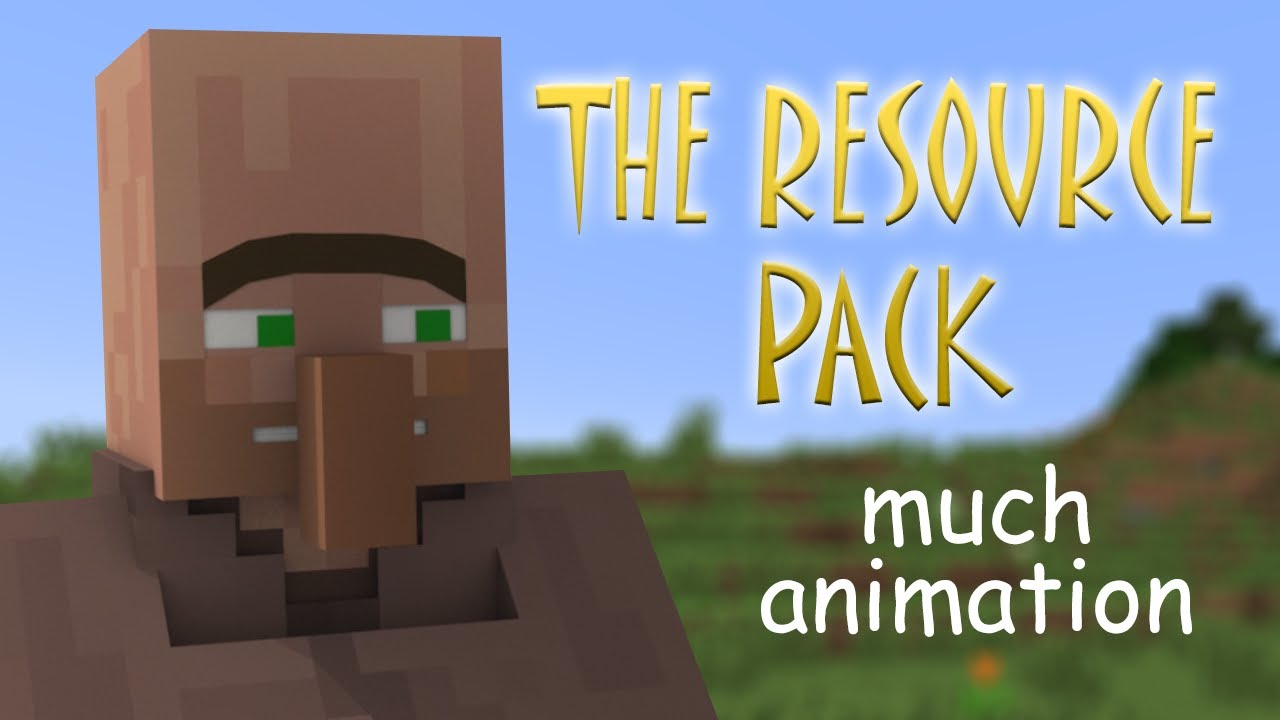 The Element Animation Villager Sounds Resource Pack - 9Minecraft.Net