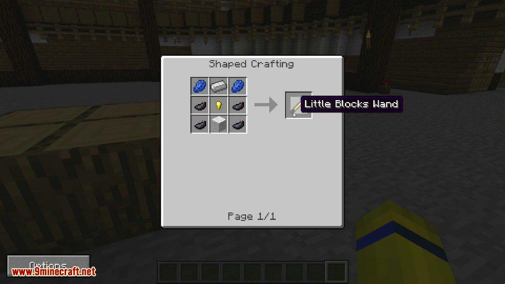 Little Blocks Mod Crafting Recipes 1