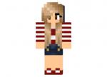 Red Sailor Girl Skin