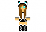 Sexy Panda Girl Skin