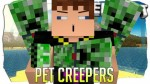 Tameable (Pet) Creepers Mod 1.7.2/1.6.4