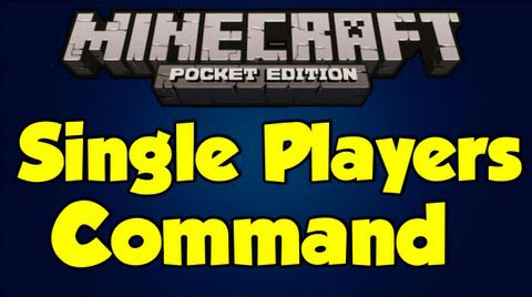 Single Player Commands for MCPE - 9Minecraft Net