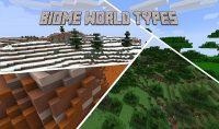 Biome-World-Types-Mod