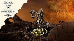 Mechanic-Steampunk-Spider-Map