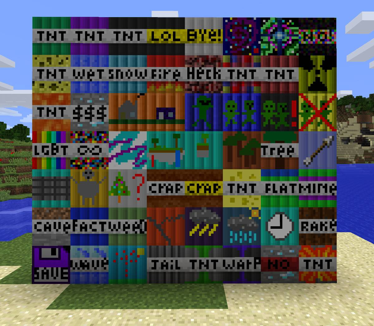 Super TNT Mod for Minecraft 06