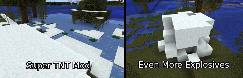 Super TNT Mod for Minecraft 16
