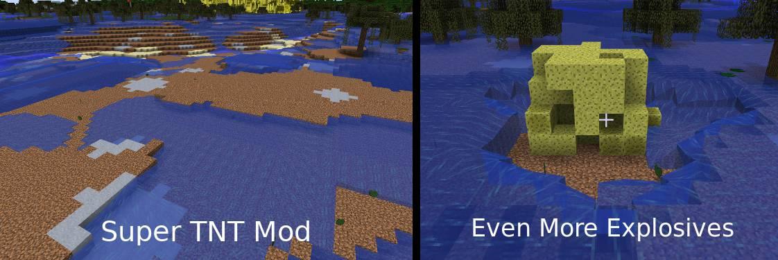 Super TNT Mod for Minecraft 17