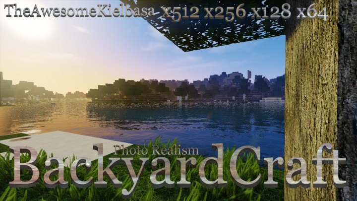 Backyardcraft photo realism resource pack 11221112 9minecraft sciox Image collections