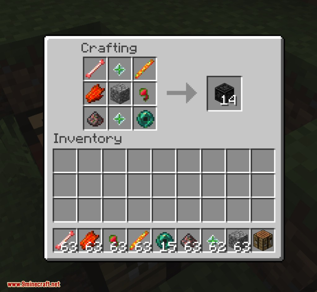 Corrupted Ones Mod Crafting Recipes 1
