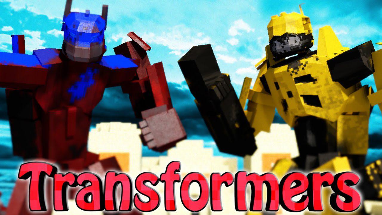 Minecraft Transformers Mod 1.7.10 Download