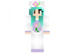 Flower Unicorn Girl Skin