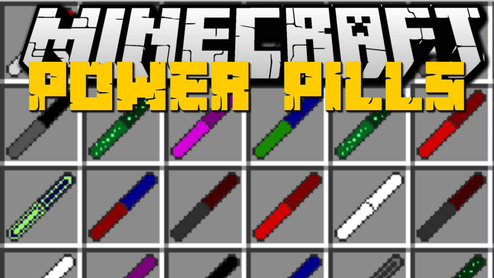 Power Pills Mod
