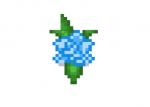 Blue-rose-skin