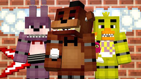 Five Nights At Freddy's with 3D Models Map - 9Minecraft Net