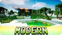 Beautiful Modern House Map 9MinecraftNet